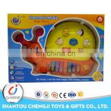 Hot educational cheap cartoon plastic musical instruments toys for kids
