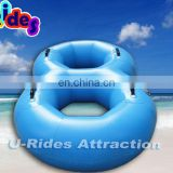 PVC tarpaulin inflatable river float tubes for kids