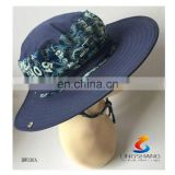 New Style Wide Fold Brim Sun protected Hat for fishing men