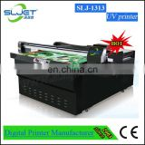 Cylinder product like mug and bottle uv printer, SLjET uv printer price uv led