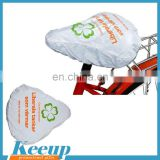Promotional rain CMYK bike seat cover