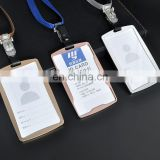 Professional wholesale novelty fancy cute neck id card holder