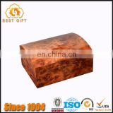 TOP QUALITY High Gloss Burl Wood Cigar Humidor Box