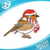High Quality Custom Dove Shape Badge Pin