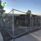 Warehouse chain link fencing cheap temporary fence panel for sale