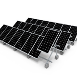 FLAT ROOF MOUNT ALU TRIANGLE MOUNT Solar Panel Mounting Accessories Mounted Vertical Wind Generator