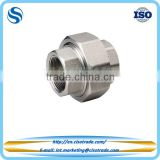 Threaded union male female stainless steel Class 150 conform to ASTM A351 cast pipe fitting