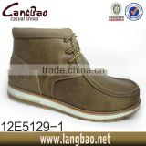 2014 New Development Men Genuine Leather Shoes, High Quality Leather Shoes,fox fur snow boots
