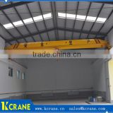 Steel wheel trolley overhead crane,electric driven crane