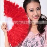 Wholesale custom Dancing bridal hand fans Party supplies