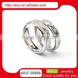 Top Sale Newest Product 316l stainless steel jewelry wholesale rings silver rings