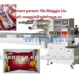 Automatic Pillow Packaging Machine Wrapping Machine for Bakery Bread