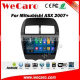 Wecaro WC-MA1011 10.2 inch android 4.4/5.1 car dvd player for mitsubishi asx car radio 2007 + With Wifi and 3G GPS Radio RDS