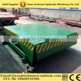 Stationary steel ramp for container/Hydraulic manual yard ramp easy operation and reliable