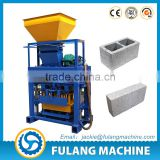 machine for small business brick making machine price 40-1 small scale manual fly ash cement concrete block machine Algeria