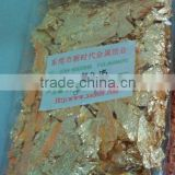 cheap price gold foil scrap for craft and wall decoration