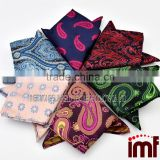 Floral Men Silk Satin Pocket Square Hanky