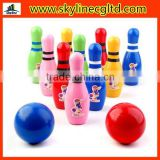 Children's educational toys,wooden Bowling game,sports toys for children