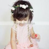 New Fashion Wholesale Kids Baby Girls Flowers Headband Floral Headwear Hair Band Head Piece Accessories wh-1780
