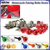 BJ-Screws-2004 Aluminum M6 Allen Key Sportbike Motorcycle Fairing Bolts Kit Fastener Clips Screws