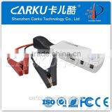 12V /24V Diesel truck Jump starter car battery power bank 1to3 USB cable for smartphone /laptop