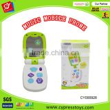 B/O Music mobile phone funny baby toys 2015
