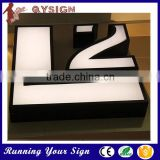 High Lighting 3D Metal Sign Decorative Chrome Letters for Advertising