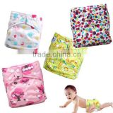 Babyland 2014 Fashionable new patterns Baby Cloth Diaper , All in one size Baby cloth nappies