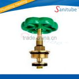 OEM brass valve cartridge with round handle switch