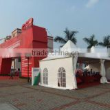 3x3 Pagoda Exhibition Tent,Garden Tent,Family Tent,Outdoor Tent,Pagoda Tent,PVC Cover,Aluminum Alloy