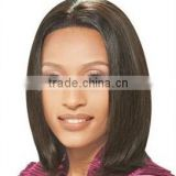 2015 high quality product human hair jewish full lace wigs with silk top