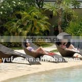 rattan furniture plastic beach chair/beach bed                                                                         Quality Choice