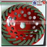"4"" concave diamond grinding wheel for granite slab grinding,long life cup wheel for stone grinding"