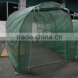 2X3m steel structure green grid PE cover Green house
