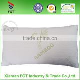 Customized new style natural latex non-toxic baby pillow with bamboo cover