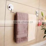 Bathroom accessories metal towel rail set/towel shelves with suction cup