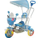 2012,New design Alien cartoon foot children tricycle and baby tricycle