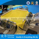 Stretching machine for silk screen mesh printing