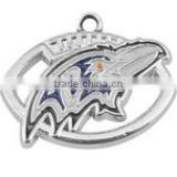 Hot NFL Charms Enamel Baltimore Ravens Football Charms For Bracelet                                                                         Quality Choice
