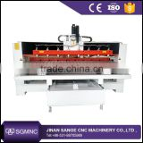 Nc-studio or DSP controller 4 axis cnc router engraver machine , 4th axis cnc router for wood MDF
