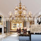 Various Classical European Cooper/Glass/Wooden Crystal Chandelier light Table lamp Floor lamp for hotel Project
