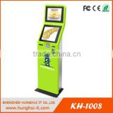 Cash Validator Payment Kiosks / Automatic Payment Machine Kiosk / Electronic Bill Machine With Coin Hopper