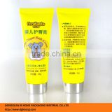 Small Cute Plastic Rash Cream Tubes for Baby Care