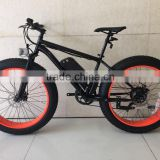 Power ebike/26Inch electric bike Al alloy 250W brushless motor Fat electric bike for sale