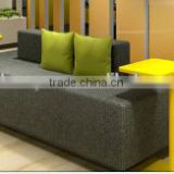 A560#Modern wood sofa furniture pictures living room fabric couch