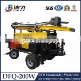 DFQ-200W water well rotary drilling machine, rotary hammer angle drill,rotary drill equipments