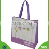 Factory Made Beautiful Design Laminated PP Non Woven Bag Reusable PP Non Woven Shopping Bag