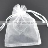 12x17cm Clear Organza Bag Velvet Pouch Bag Jewelry Bag Christmas Wedding Gift Bags & Pouches With Drawstring
