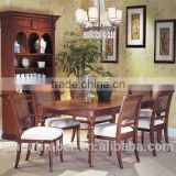 Luxury classical wooden dining room furniture set,european style dining set, dining table and chair
