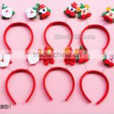 Birthday party, christmas party, party supplies in stock santa claus hair hoop accessories for women